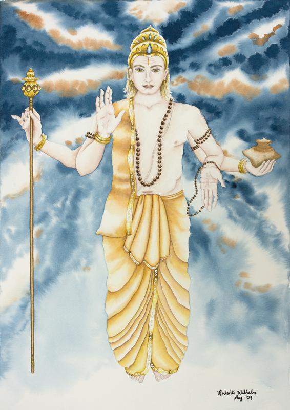 Guru- Jupiter Astrological Planetary Deity