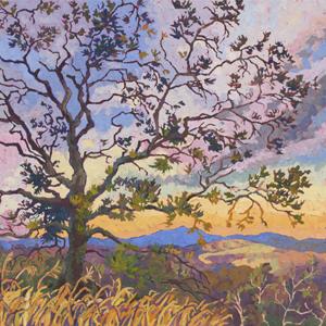 landcape, painting, prescott