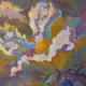 impressionistic painitng of the prickly poppy or the sunny side up flower
