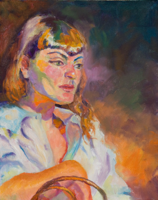 impressionism figure painting from life model