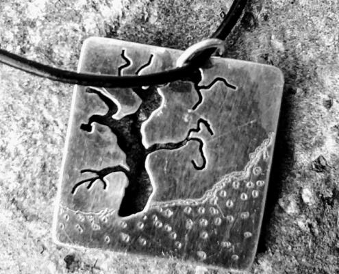 Old Bones- Landscapes on Metal