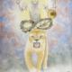 Rahu- the North Node Astrological Planetary Deity